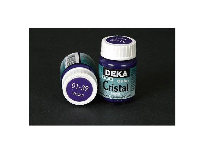 Deka ColorCristal 01-39 fialová 25ml