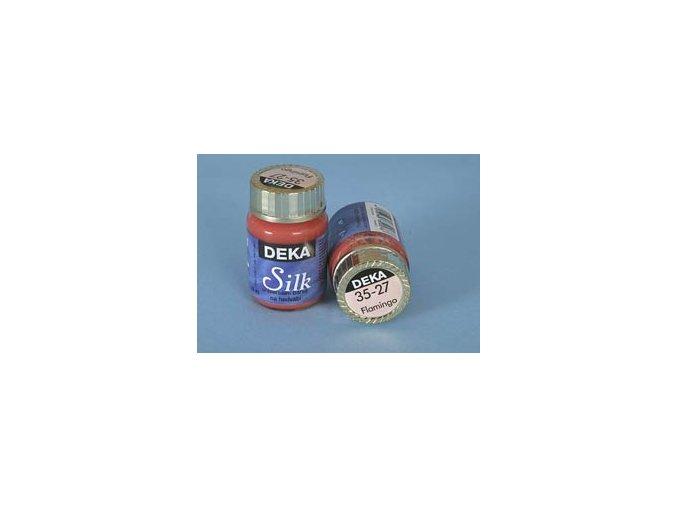 Barva na hedvábí Deka Silk 35-27 flamingo 25 ml