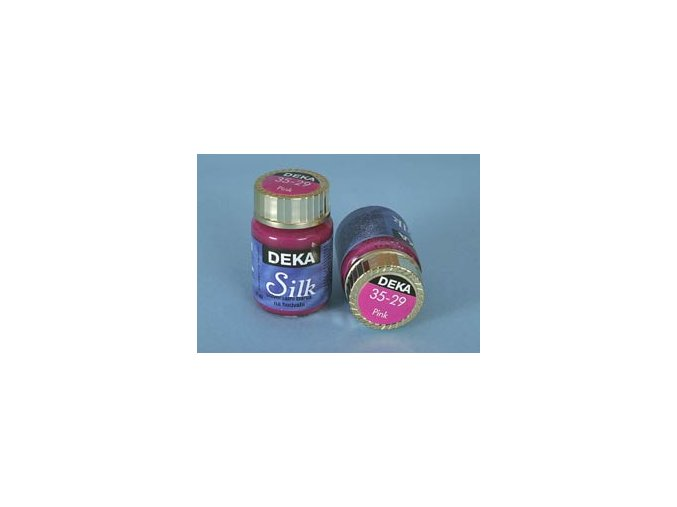 Barva na hedvábí Deka Silk 35-29 tmavě růžová 25 ml