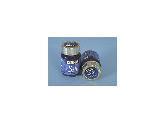 Barva na hedvábí Deka Silk 35-51 ultramarín 25 ml