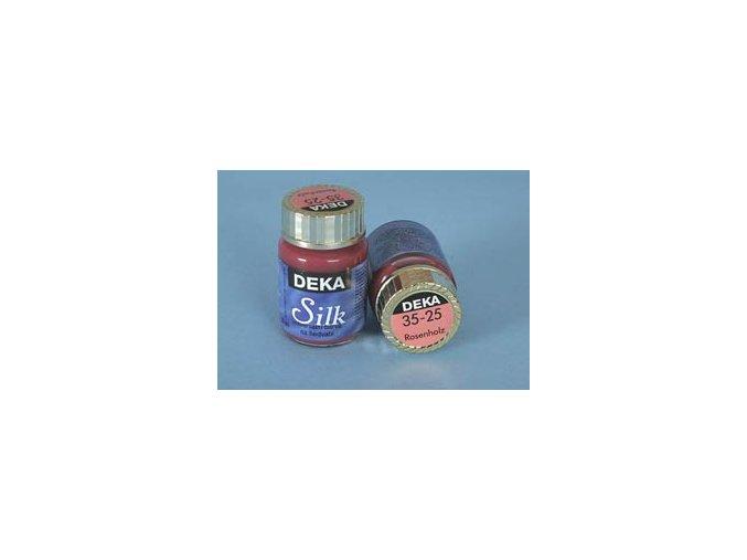 Barva na hedvábí Deka Silk 35-25 růže 25 ml