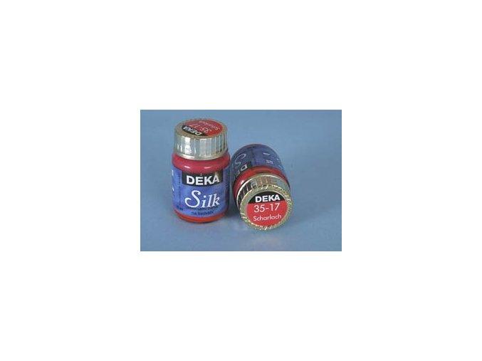 Barva na hedvábí Deka Silk 35-17 šarlátová 25 ml