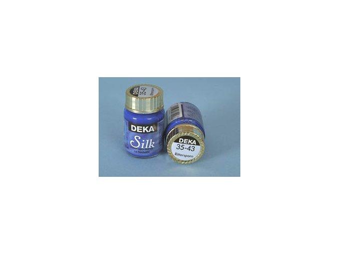 Barva na hedvábí Deka Silk 35-43 ocelově modrá 25 ml