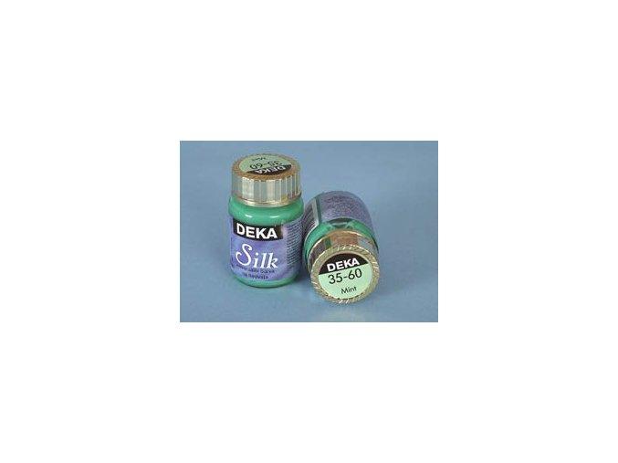 Barva na hedvábí Deka Silk 35-60 mátová 25 ml