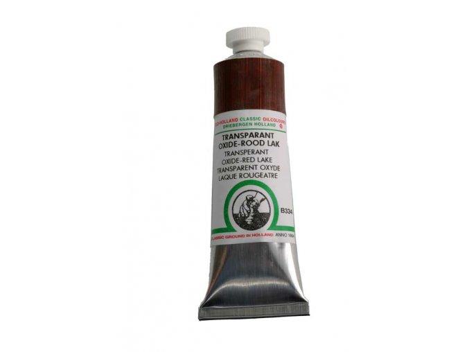 B334 Transparent oxide-red lake 40 ml