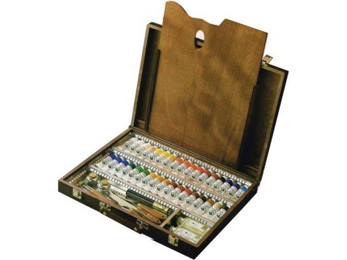 Prestige Set mistrovských olejových barev 34 odstínů