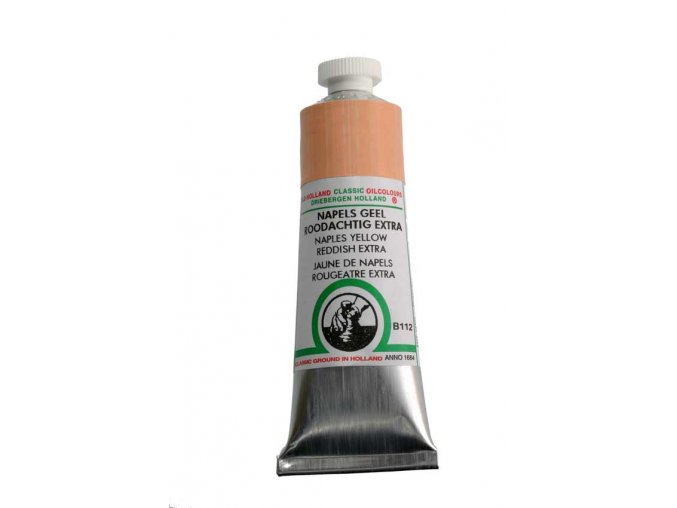 B112 Naples Yellow Redish Extra 40 ml