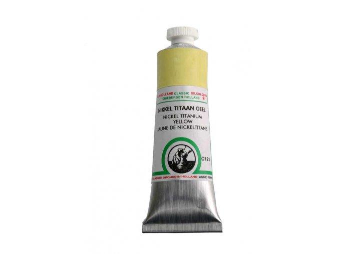 C121 Nickel titanium yellow 40 ml