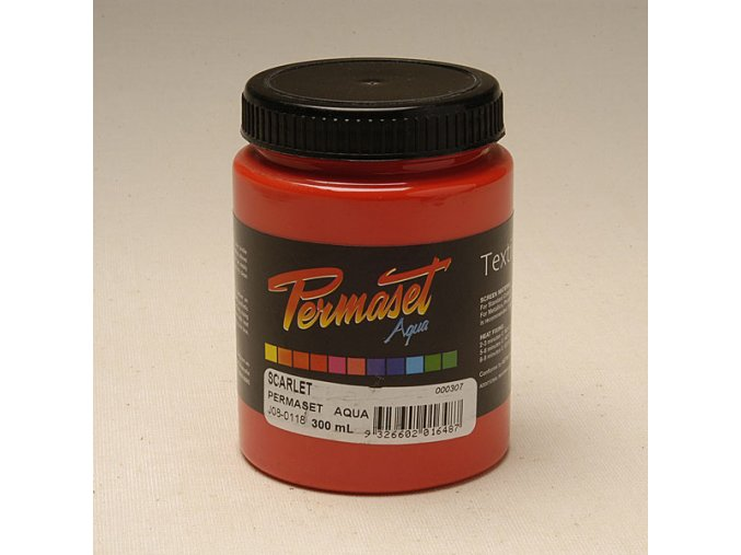 Permaset-standard 300ml červená scarlet