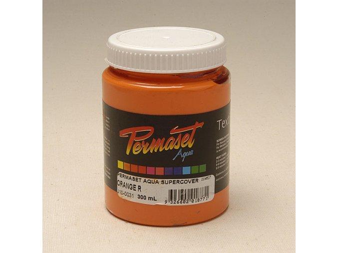 Permaset-silně krycí 300ml oranžováR