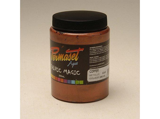 Permaset-metallic 300ml meděná