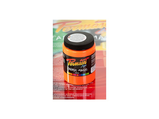 Permaset Glow - 300ml zářící oranžová