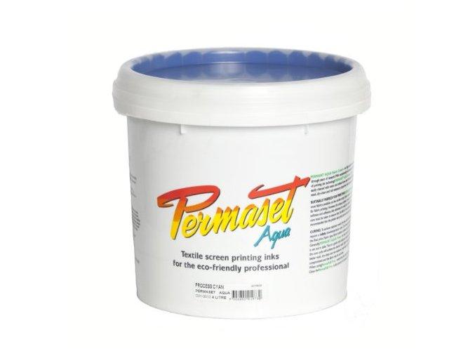 Permaset-Process CMYK 1L cyan