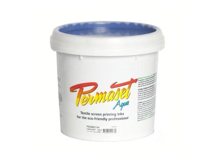 Permaset-Process CMYK 4L cyan