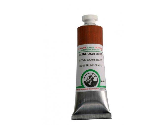A58 Brown ochre light 40 ml