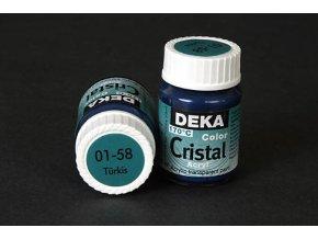 Deka ColorCristal 01-58 tyrkysová 25ml