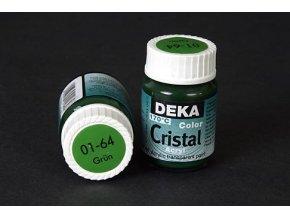 Deka ColorCristal 01-64 zelená 25ml