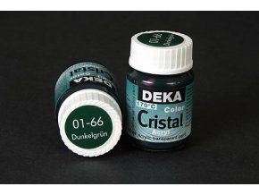 Deka ColorCristal 01-66 tm.zelená 25ml