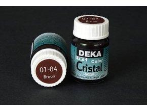 Deka ColorCristal 01-84 hnědá 25ml
