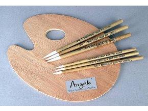 Paleta Angelo dřevěná 20x30cm 2501