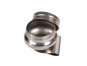 Kelímek s držákem kovový CS-201310-S