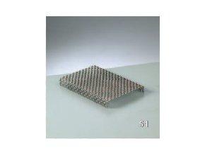 Vypalovací síto-podložka  120x80 mm