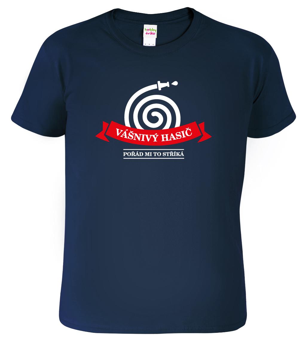 90db54612e3 Vtipné dárky pro hasiče - tričko s hasicí stříkačkou