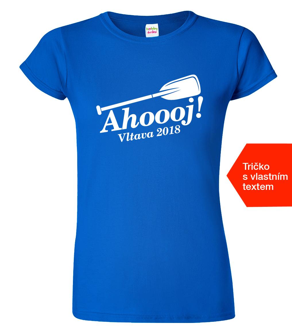 Dámské vodácké tričko - Ahoooj - www.HobbyTriko.cz 627074f651
