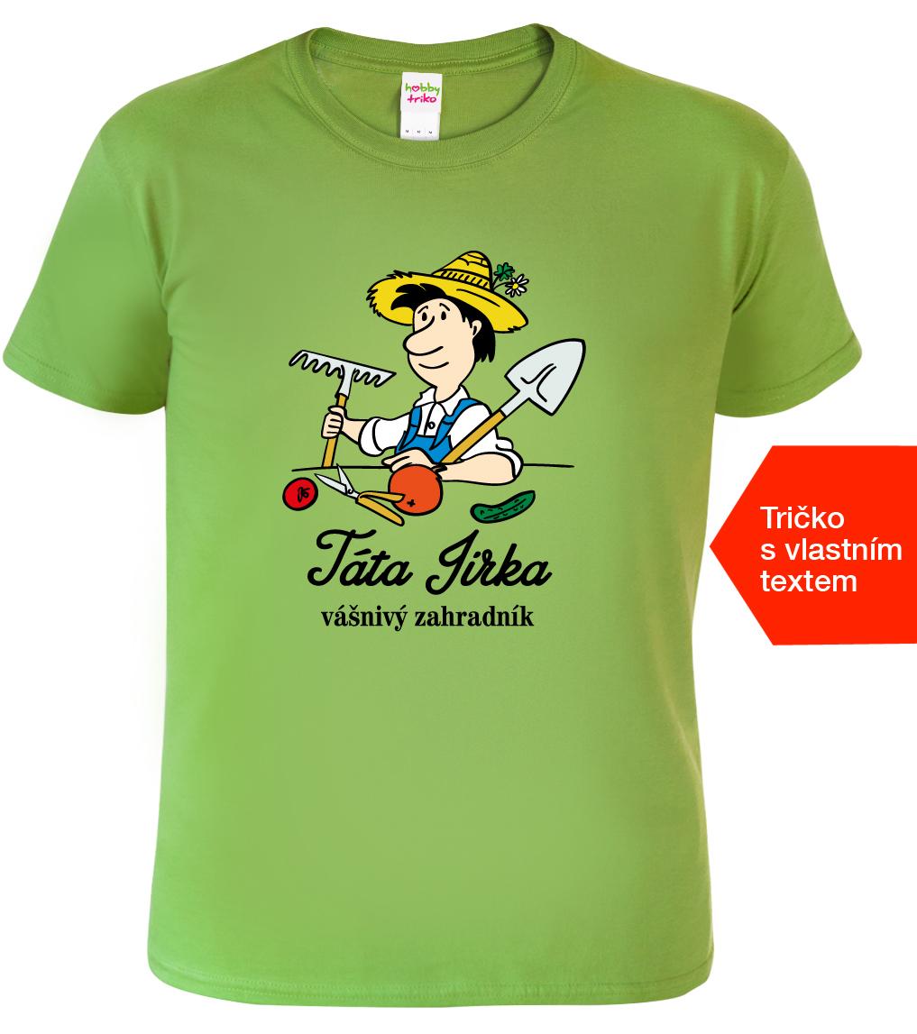 7dd9ca68753 Tričko pro tátu - Vášnivý zahradník - www.HobbyTriko.cz