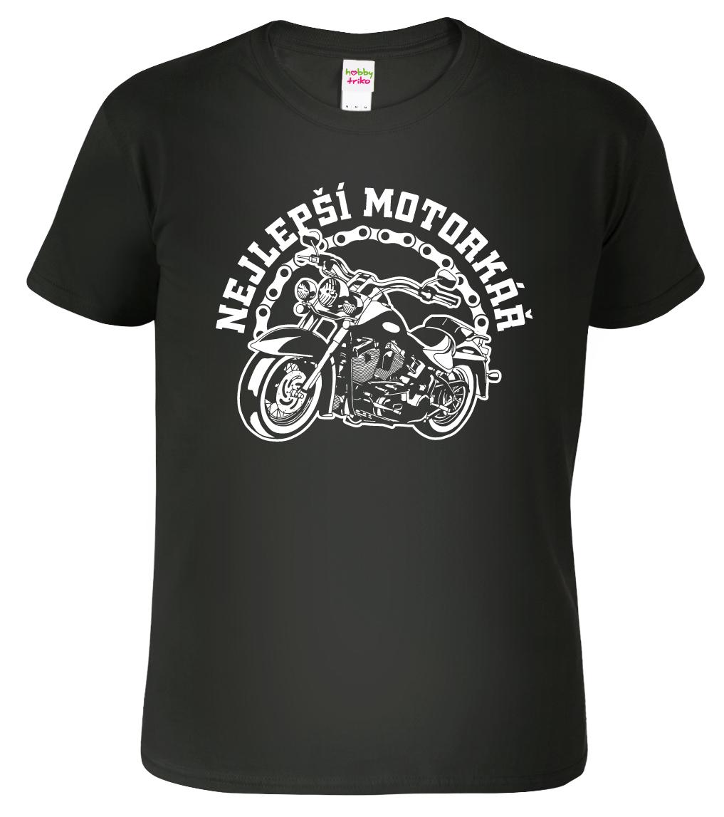 Motorkářské tričko - Nejlepší motorkář - www.HobbyTriko.cz 3fb257e3de