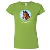 Dámské tričko s koněm - motivem koně
