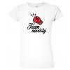 Dámské dvatební tričko - Team nevěsty