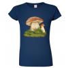 Tričko s houbou