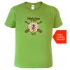 Tričko pro včelaře Včelařem od roku kiwi