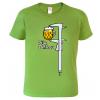 vtipné tričko pro muže pivaře