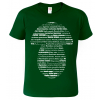 Tričko pro houbaře - Latinské názvy hub