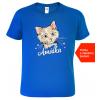 Dětské tričko s kočkou Royal