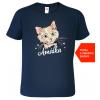 Dětské tričko s kočkou Navy