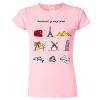 Tričko pro cestovatele  - Barevné cestovatelské symboly