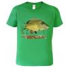 dětské rybářské tričko s kaprem