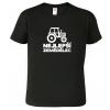 Tričko pro zemědělce s traktorem