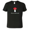 Tričko s houbou - Sbírám ty nejkrásnější