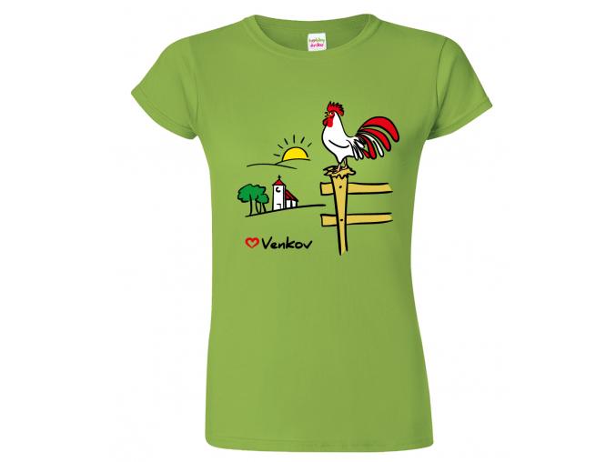 Tričko pro chalupáře - Kohout