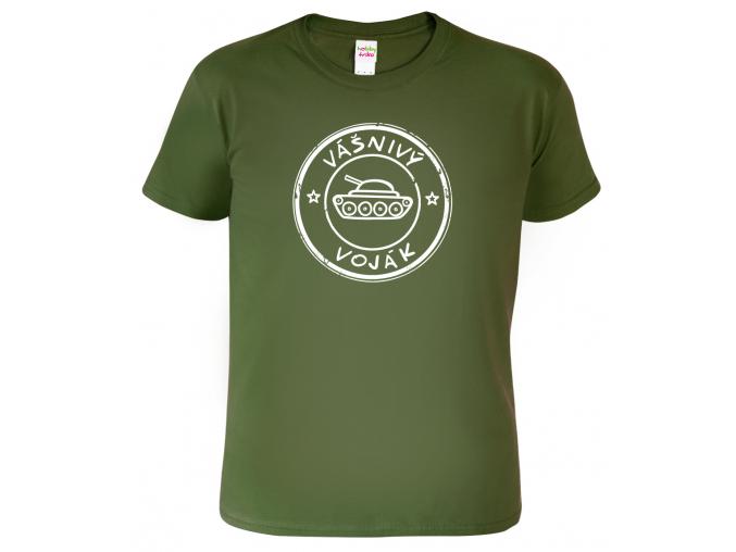 Vojenské tričko - Vášnivý voják