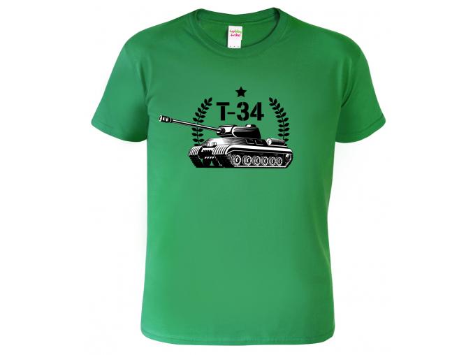 Army tričko s tankem - Tank T-34
