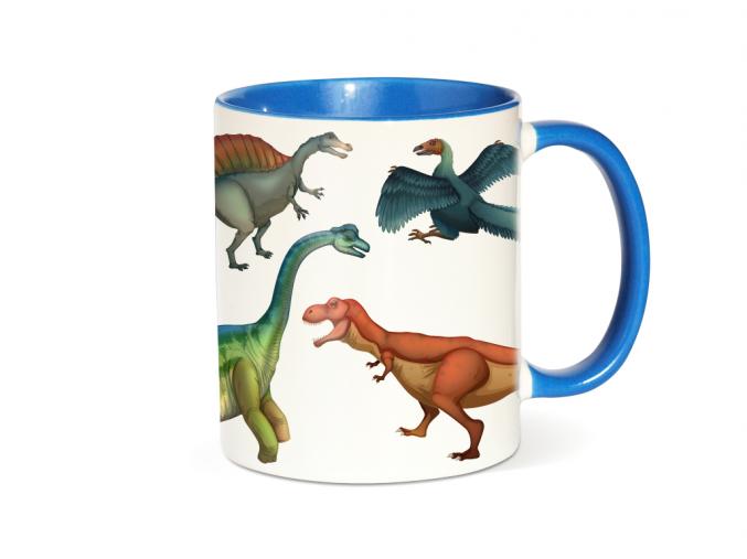 Hrnek s dinosaurem