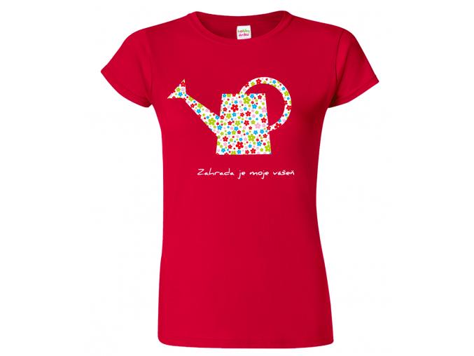 Tričko pro zahrádkáře - Konvička