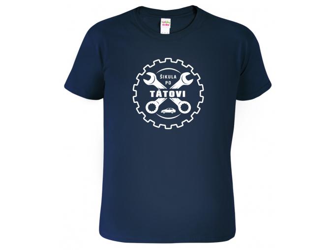 Dětské tričko Šikula po tátovi Navy