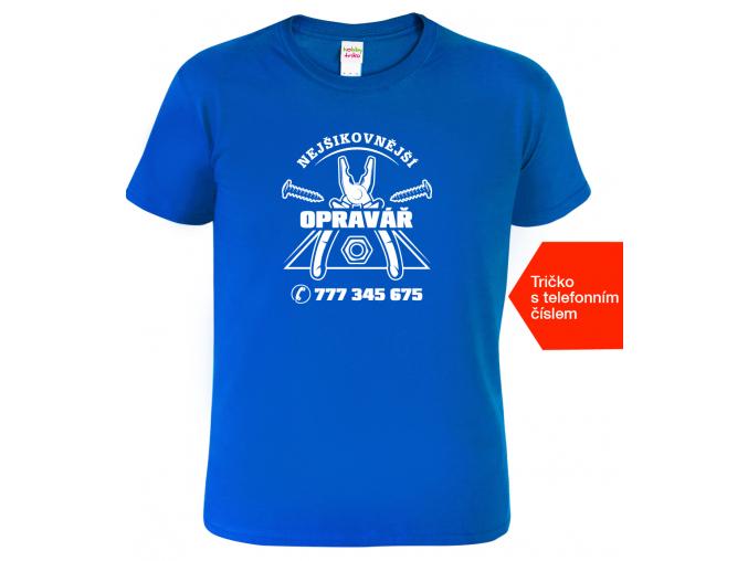 Tričko pro muže Opravář+tel