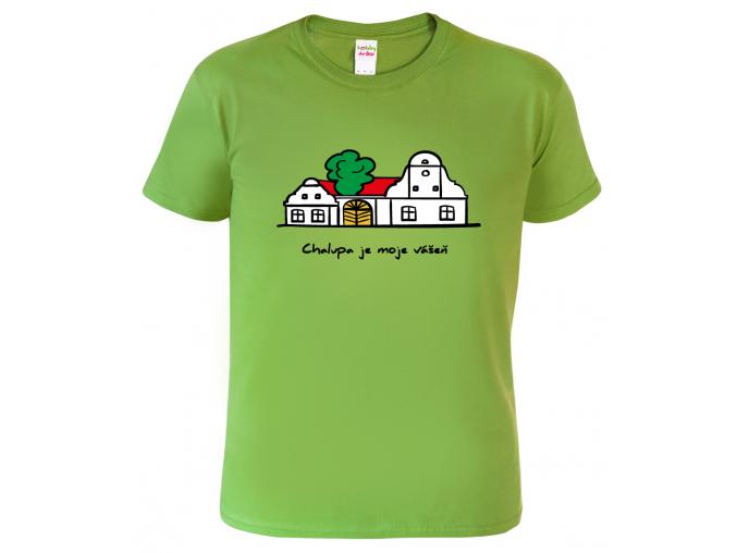 Tričko s potiskem pro chalupáře